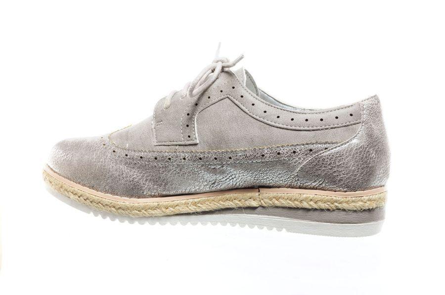 Argent Brogues Cordon Chaussures mX4w3MXtM