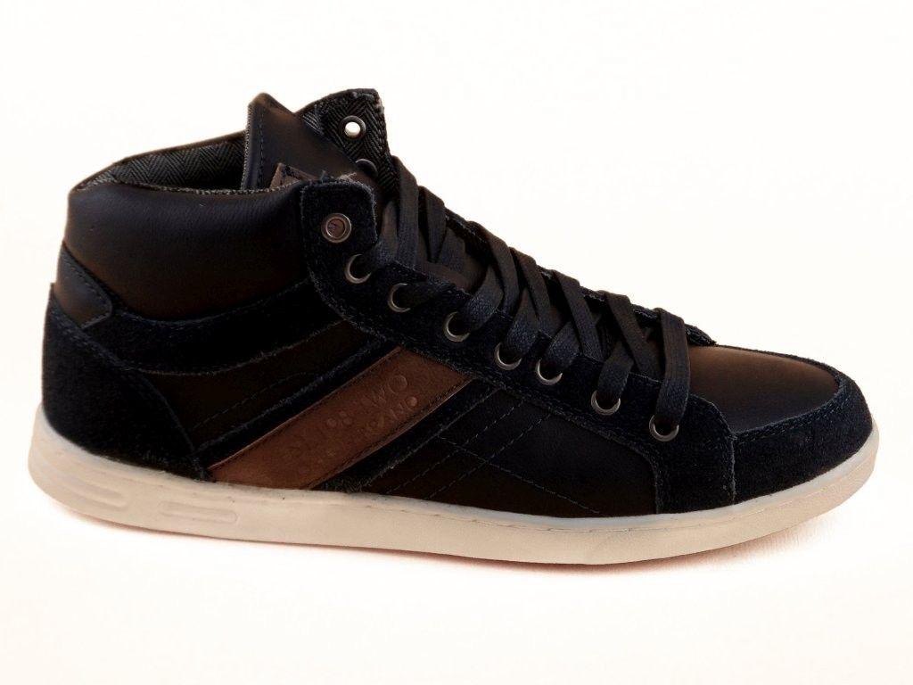 Chaussures Bleu Patrick Haute 9koyuGT3