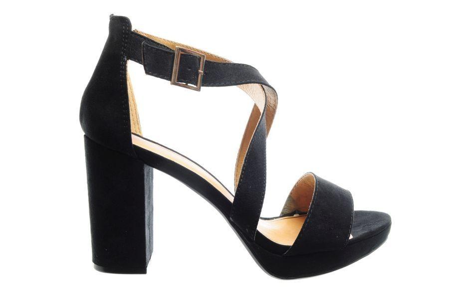 Wonderbaar Sandalen Zwart Hoge Hak - SPROX - Merken - Damesschoenen YQ-01