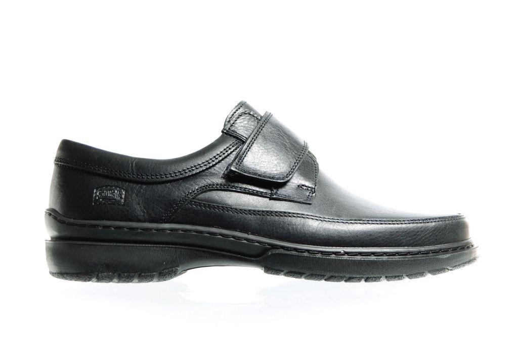 Chaussure Noire Velcro Sport Pour Hommes faU6oTu