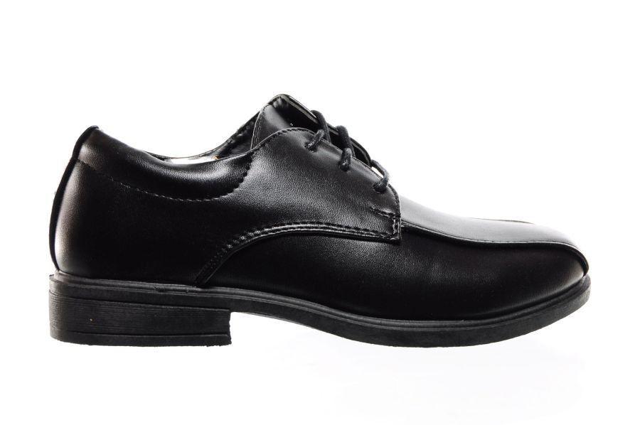 Chaussures Noires Garçons Uniforme Scolaire vvf4FAa9F