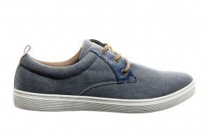 Blauw Canvas Sneakers Sprox