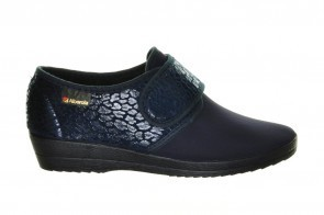 Alberola Blauw Lycra Stretch Velcro