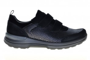 Ara Comfortschoen Zwart Velcro Stretch