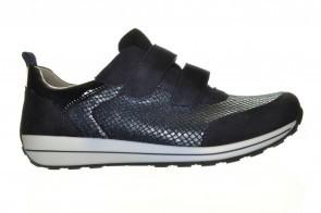 Ara Comfortsneaker Blauw Velcro