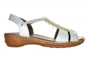 Ara Hawaii Witte Lederen Sandaal