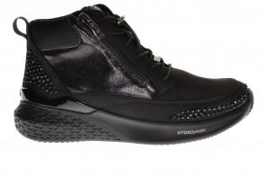 Ara Hoge Sneaker Zwart Waterdicht