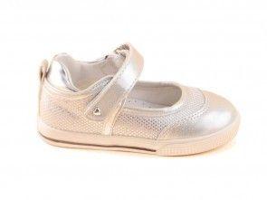 Babyschoenen Zilver Ballerina