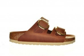 Birkenstock Antique Brown Big Buckle