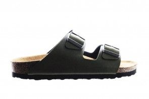 Birkenstock Arizona Pull Up Olive Vegan