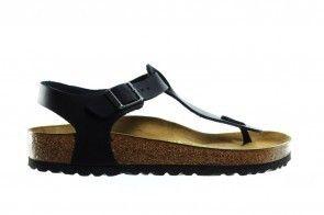 Birkenstock Kairo Black Leather