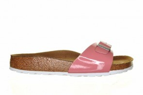 Birkenstock Madrid Patent Old Rose