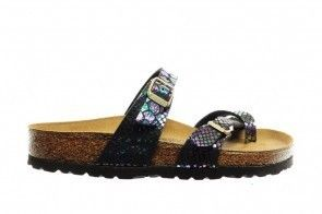 Birkenstock Madrid Snake Black Multicolor