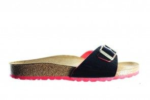 Birkenstock Madrid Two Tone Black