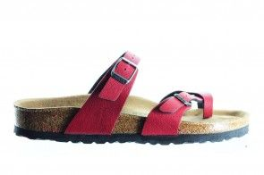 Birkenstock Mayari Pull Up Bordeaux Vegan