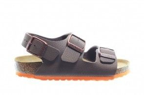 Birkenstock Milano Kinder Desert Soil Brown