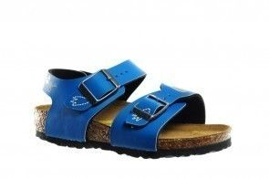 Birkenstock New York Kinder Dragon Friends Bleu