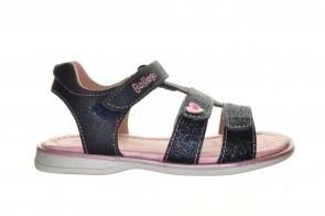 Blauw Glitter Sandalen