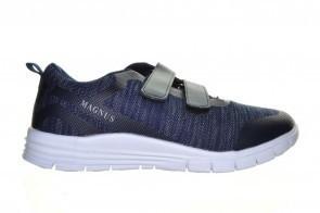 Blauwe Goedkope Sportschoen Man Met Velcro