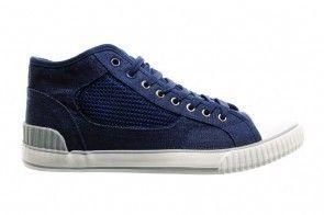 Blauwe Hoge Sneakers