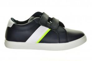 Blauwe Kinderschoenen Velcro