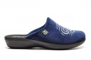 Blauwe Pantoffel Muil Fly Flot