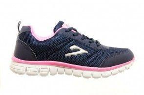 Blauwe Roze Sportsneaker