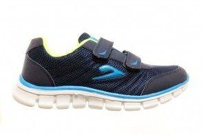 Blauwe Sportschoenen Velcro