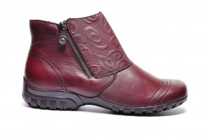 Bottine Bordeaux Comfort Rieker