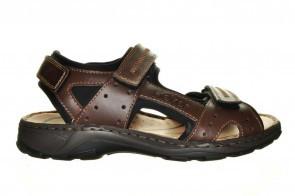 Bruine Sportieve Comfort Sandaal Rieker