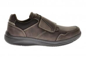 Bruine Velcroschoenen Comfort