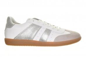 Bullboxer Sneakers Wit Grijs