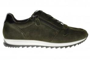 Caprice Sneaker Donkergroen