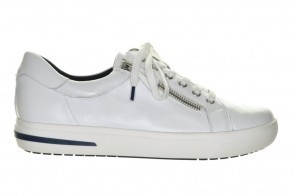 Caprice Sneaker Wit Leder