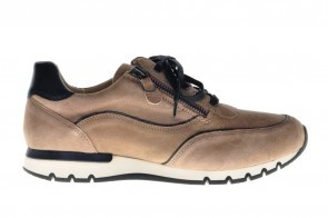 Caprice Taupe Suede Sneaker