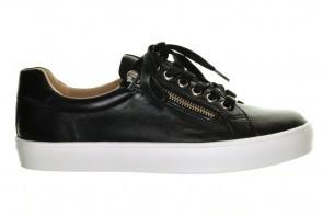 Caprice Zwarte Sneaker Nappa