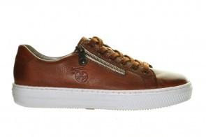 Cognac Comfort Sneaker Rieker