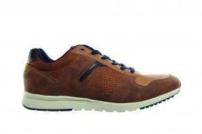 Cognac Heren Sneaker