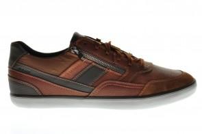 Cognac Heren Sneaker Geox
