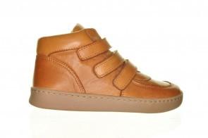 Cognac Leder Kinderschoenen