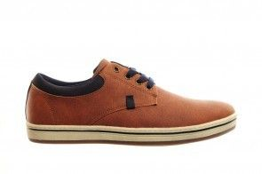 Cognac Veterschoenen Fashion