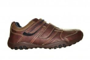 Comfortschoenen Bruin Velcro