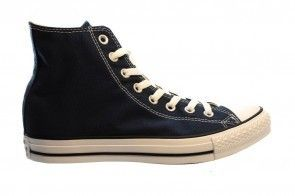 Converse All Stars Hi Navy Blauw