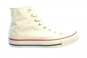 Converse All Stars Hi Optic White Wit Witte