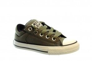 Converse High Stree Charcoal Kids