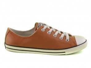 Convserse All Stars Dainty Ox Glazed Ginge Leder