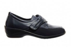 Dames Orthopedische Schoenen Blauw Lycro