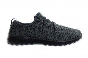 Dames Zwart Grijze Sneakers