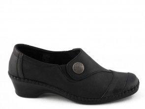 Damesschoen Comfort Zwart