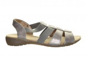 Donker Zilver Sandalen Comfort